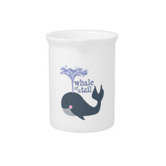 Whale Of Tale Beverage Pitcher