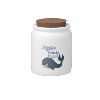 Whale Of Tale Candy Dishes