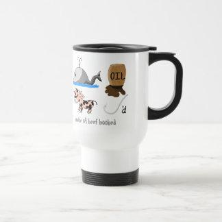 Whale Oil Beef Hooked fun slogan Coffee Mug