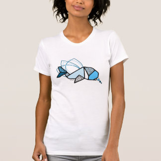 Whale origami T-Shirt