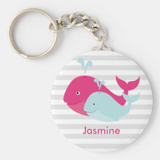 Whale Pals Key Ring