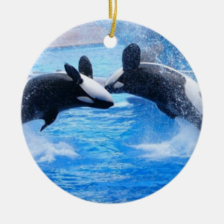 Whale Photo Ornament