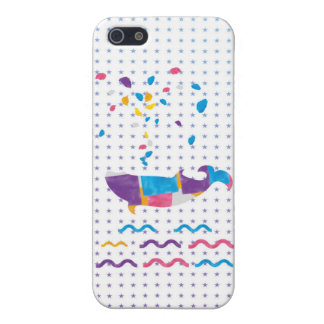 Whale sea whale cute sea whale lovely iPhone iPhone 5/5S Case
