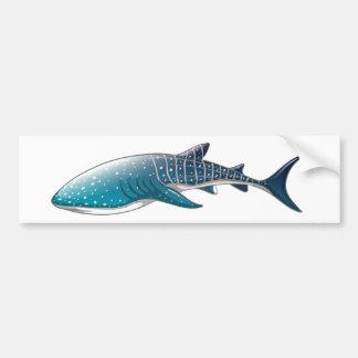 Whale shark bumper sticker