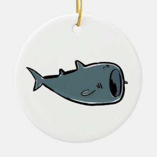 whale shark christmas ornament