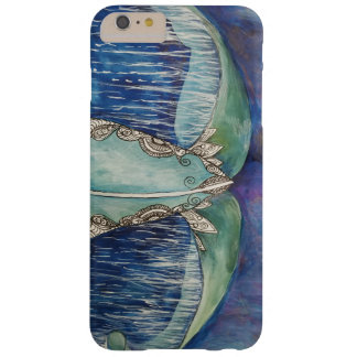 Whale tail phone case