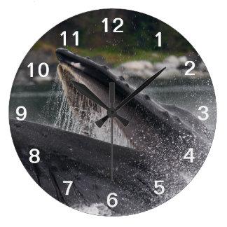 whale wallclock