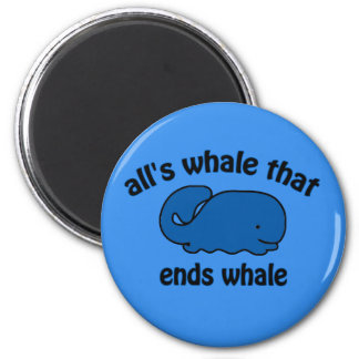 Whale Watch Kids Funny Magnet