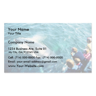 Whale Watching (Humpback) Business Card Template