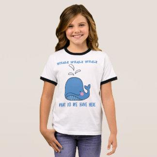 Whale, whale, whale! ringer T-Shirt