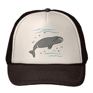 Whale Whales Marine Mammals Cetacea Ocean Art Trucker Hats