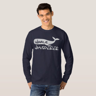 Whale Whisperer Shirt for Whale lovers