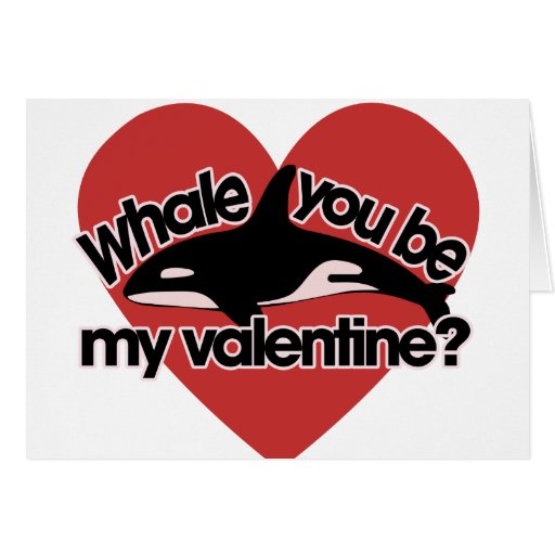Whale you be my Valentine Greeting Cards