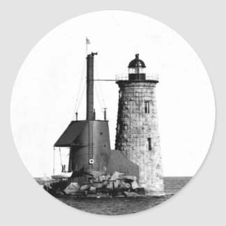 Whaleback Lighthouse Stickers