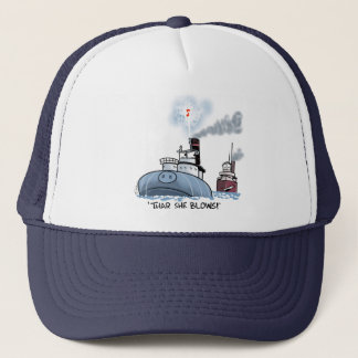 "Whaleback ""thar she blows"" trucker hat"