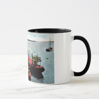 Whalebacks at Belle Isle, Michigan Mug