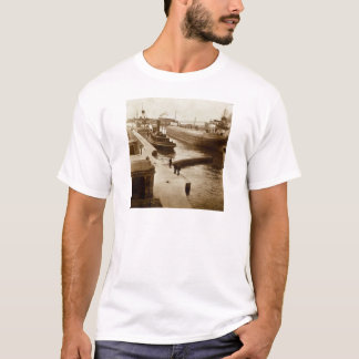 Whalebacks at The Soo Vintage Stereoview T-Shirt