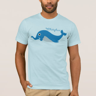 Whalephant Adult T T-Shirt