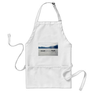 Whales Alaska Standard Apron