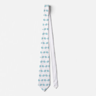 Whales in Love Tie