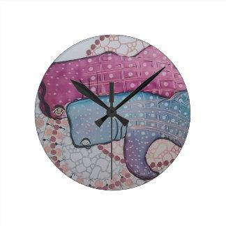 Whaleshark Round Clock