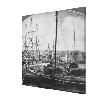 Whaling Port, New Bedford Canvas Print