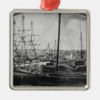Whaling Port, New Bedford Christmas Ornament