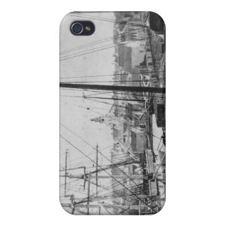 Whaling Port, New Bedford iPhone 4 Covers