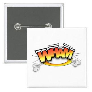 Wham 15 Cm Square Badge