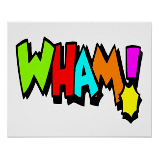 Wham! Poster