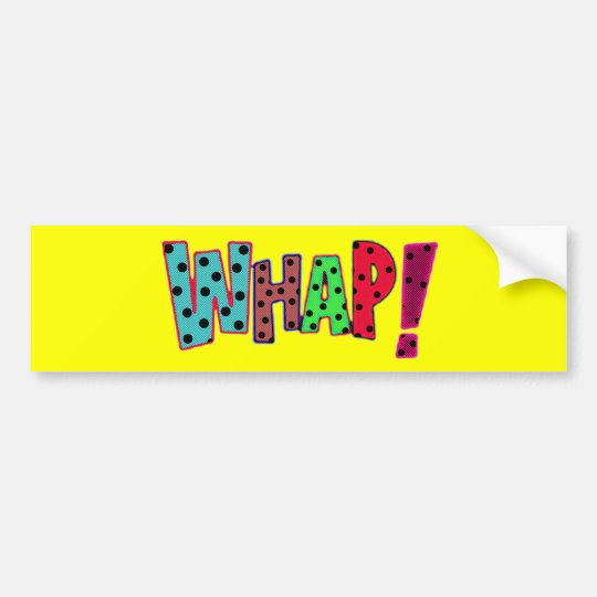 whap bumper sticker