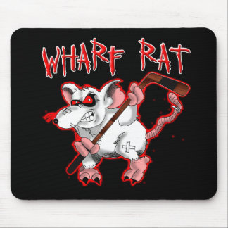 Wharf Rat Cartoon Mascot Mouse Mat