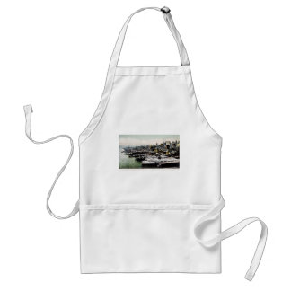 Wharves from the Brooklyn Bridge, New York City Standard Apron