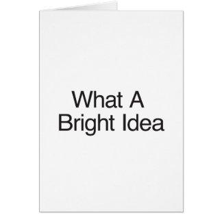 What A Bright Idea Card
