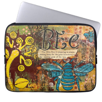 What a case for your laptop and bees!