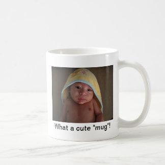 """What a cute """"mug"""" - Ewok Basic White Mug"""