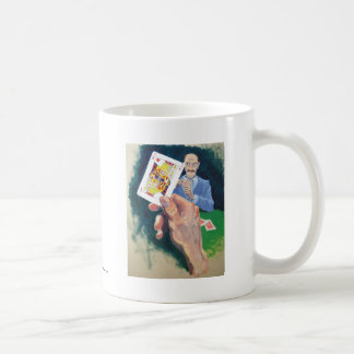 What a dirty trick basic white mug