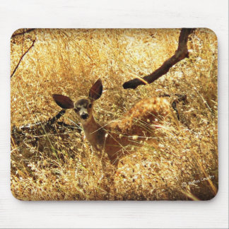 What a Little Doll Fawn Mouse Pad