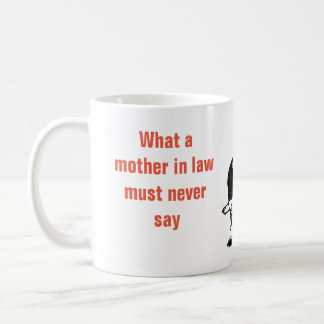 What a mother in law  - Marriage Mug