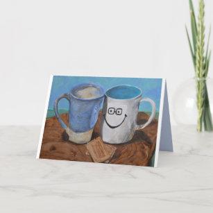 Best Friend Husband Wife Tea Cups Thank You