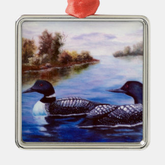 What A Pair Loon Christmas Ornament