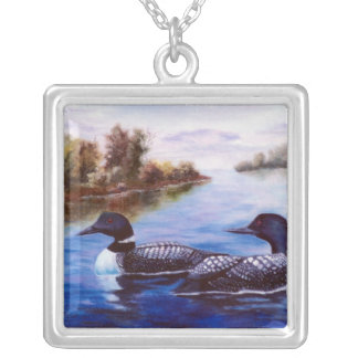 What A Pair Loon Necklace