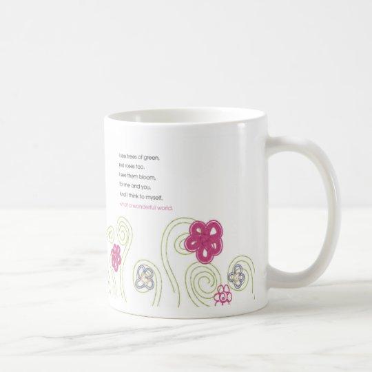 what a wonderful world mug