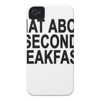 WHAT ABOUT SECOND BREAKFAST Women's T-Shirts.png Case-Mate iPhone 4 Cases