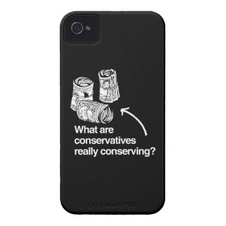 WHAT ARE CONSERVATIVES REALLY CONSERVING.png iPhone 4 Cases