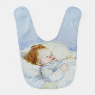 What Are Little Boys Made Of Baby Bib