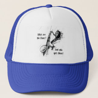 What are the Blues and who gets them? Trucker Hat