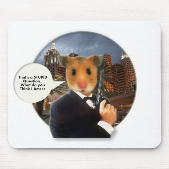 What Are You A Man or a Mouse Mouse Pad