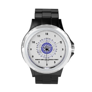 What Are You Coded For? (Amino Acid Wheel) Wrist Watches