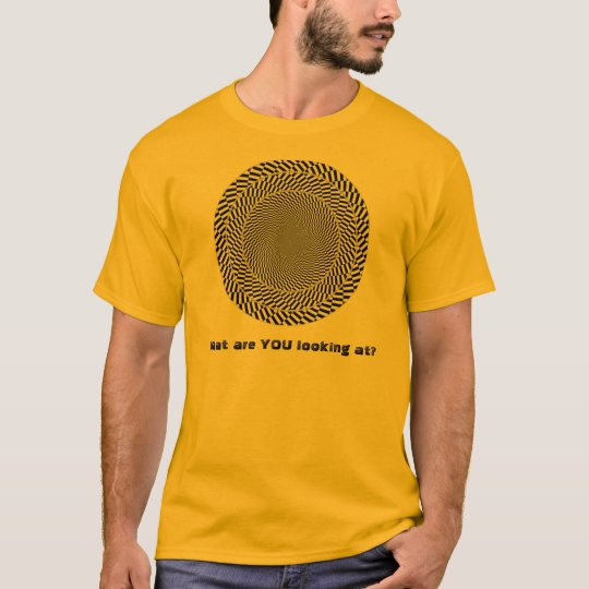 What are YOU looking at? v6 T-Shirt
